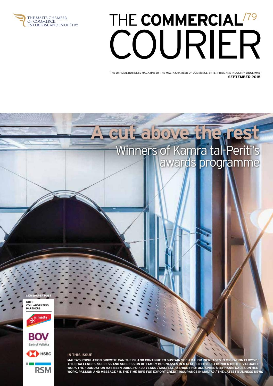 The Commercial Courier - September 2018 by Content House