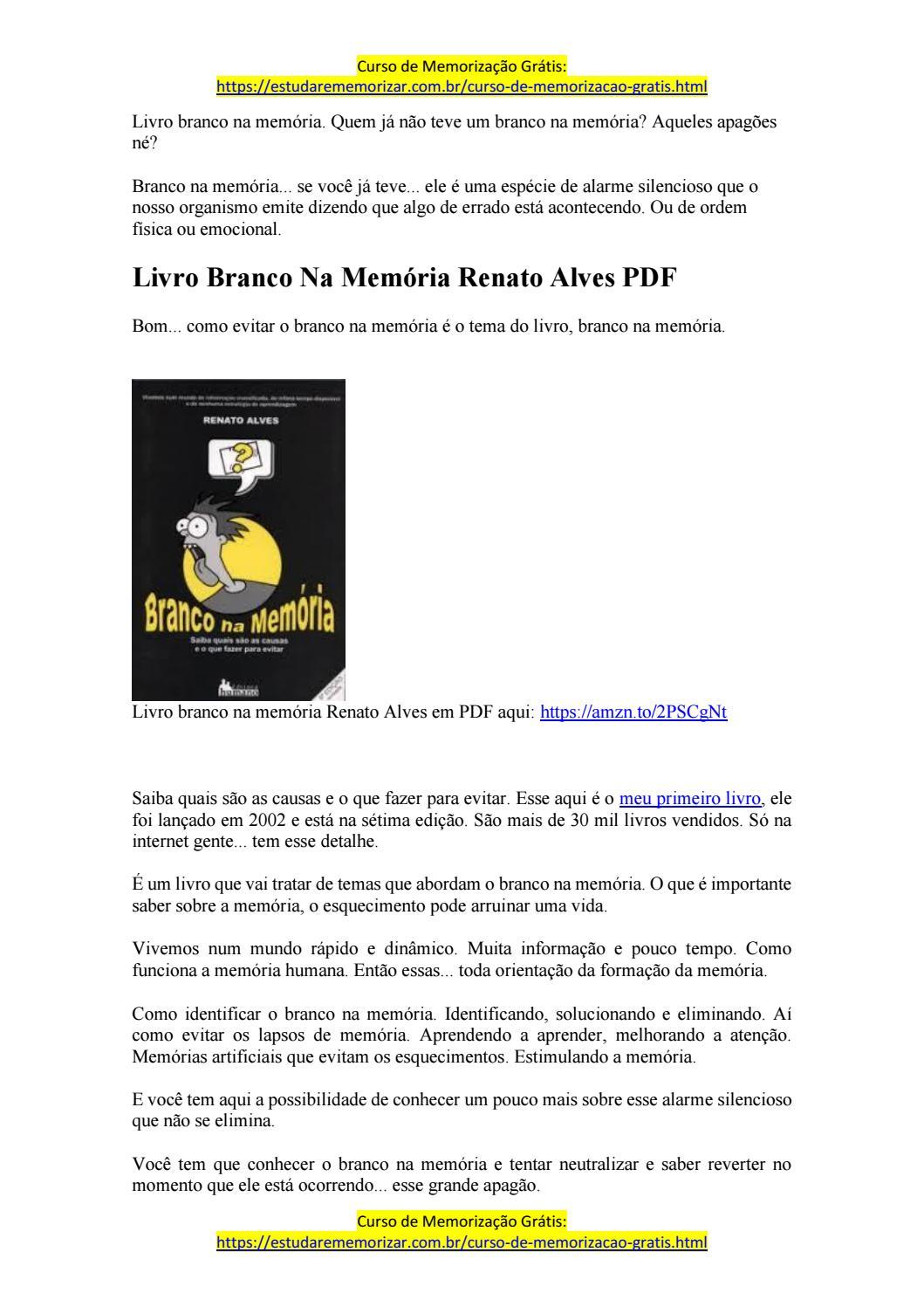 curso de memorização renato alves download gratis