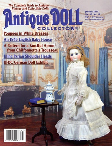 d43de205ef 2015 ANNUAL by Antique Doll Collector Magazine - issuu