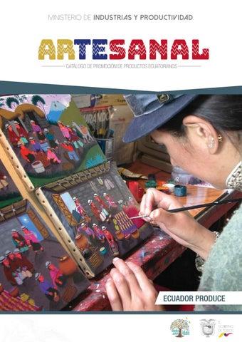 871d0d25d Catálogo Artesanal Ecuador 2018 by SubsecretarÃa de Mipymes y ...