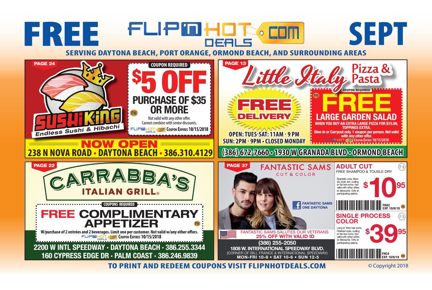 Flip Nhot Deals Coupon Book September