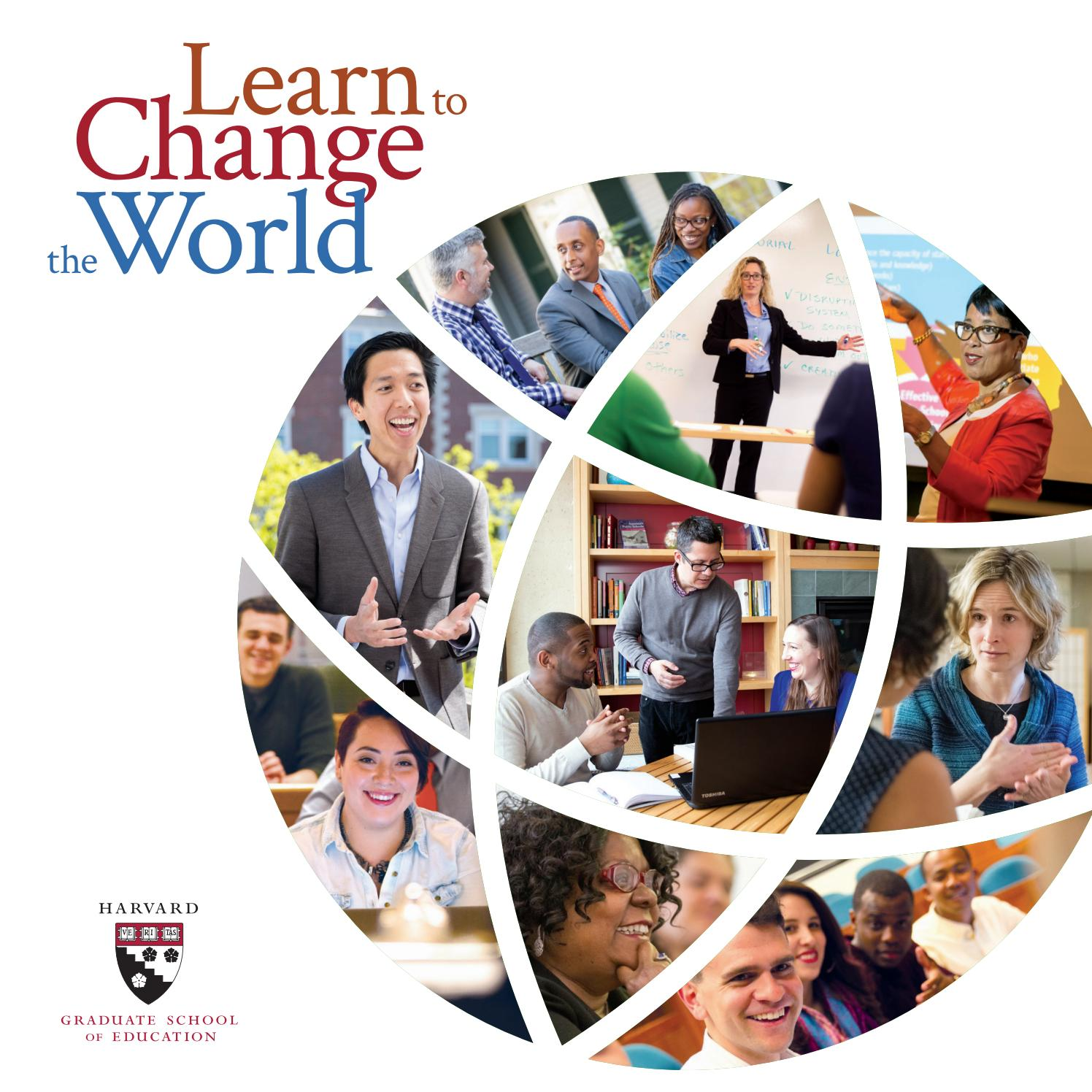 HGSE at a Glance Brochure 2018 by Harvard Graduate School of