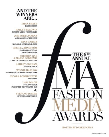 Page 27 of The 6th Annual Fashion Media Awards