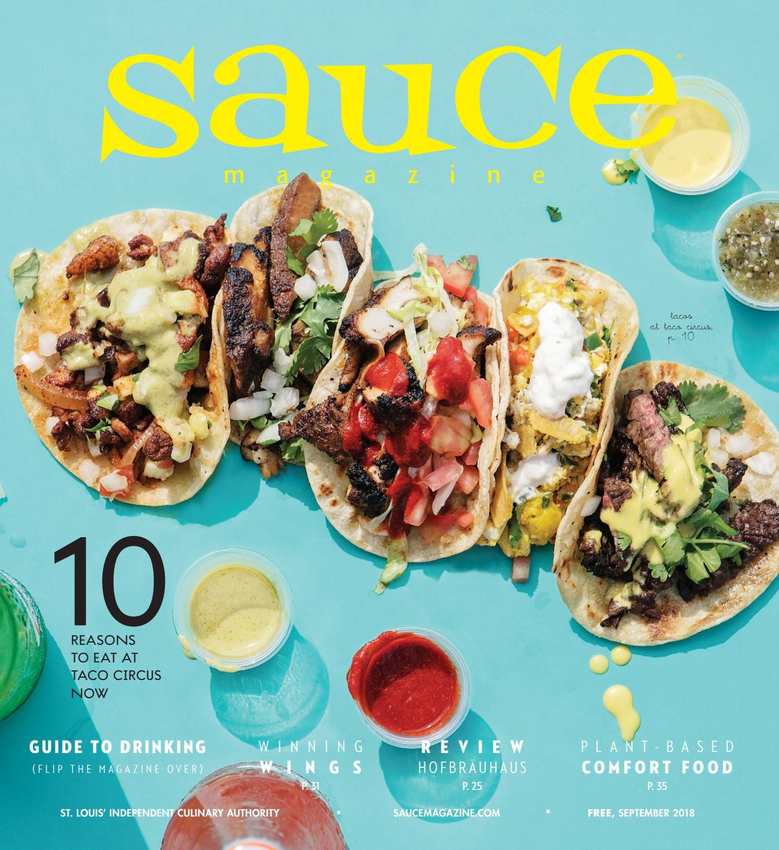 Sauce Magazine // September 2018 by Sauce Magazine - issuu