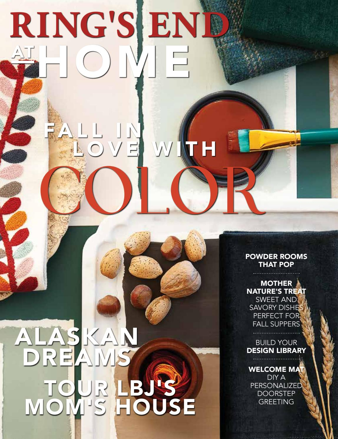 Rings end at home fall 2018 by at home magazine issuu