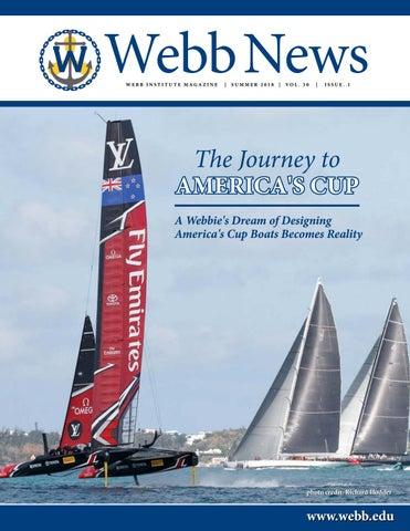 Webb News Summer 2018 By Webb Institute Issuu