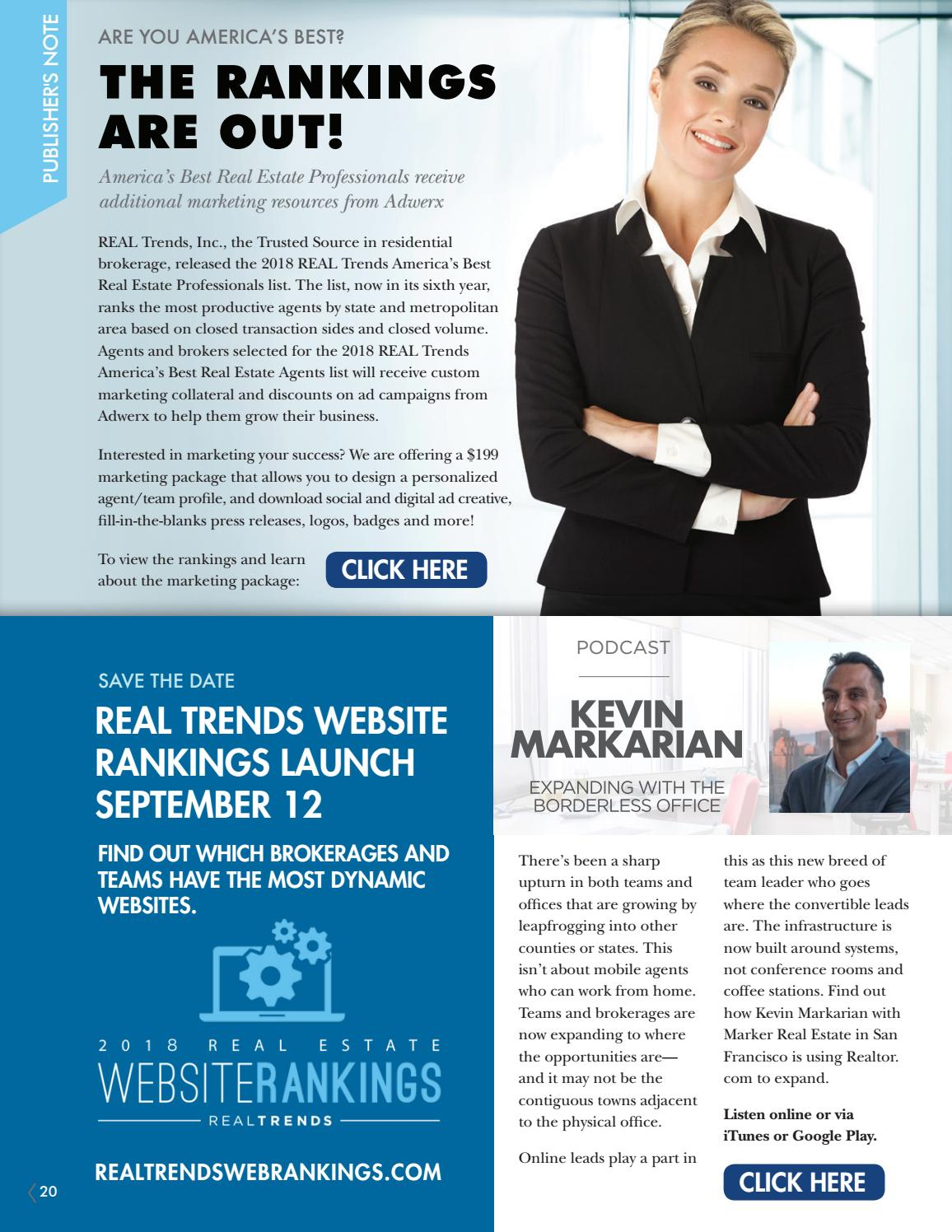 REAL Trends September Newsletter by REAL Trends - issuu