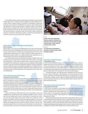 Page 13 of Innovations in American Government Award Tackles Social and Economic Inequality
