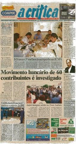 5c572deade65 Jornal A Critica - Edição 1012- 14/01/2001 by JORNAL A CRITICA - issuu