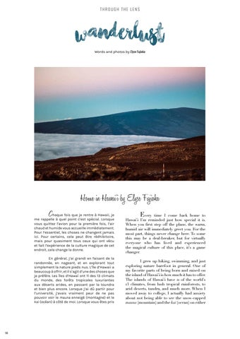 Page 18 of Wanderlust: Home in Hawai'i