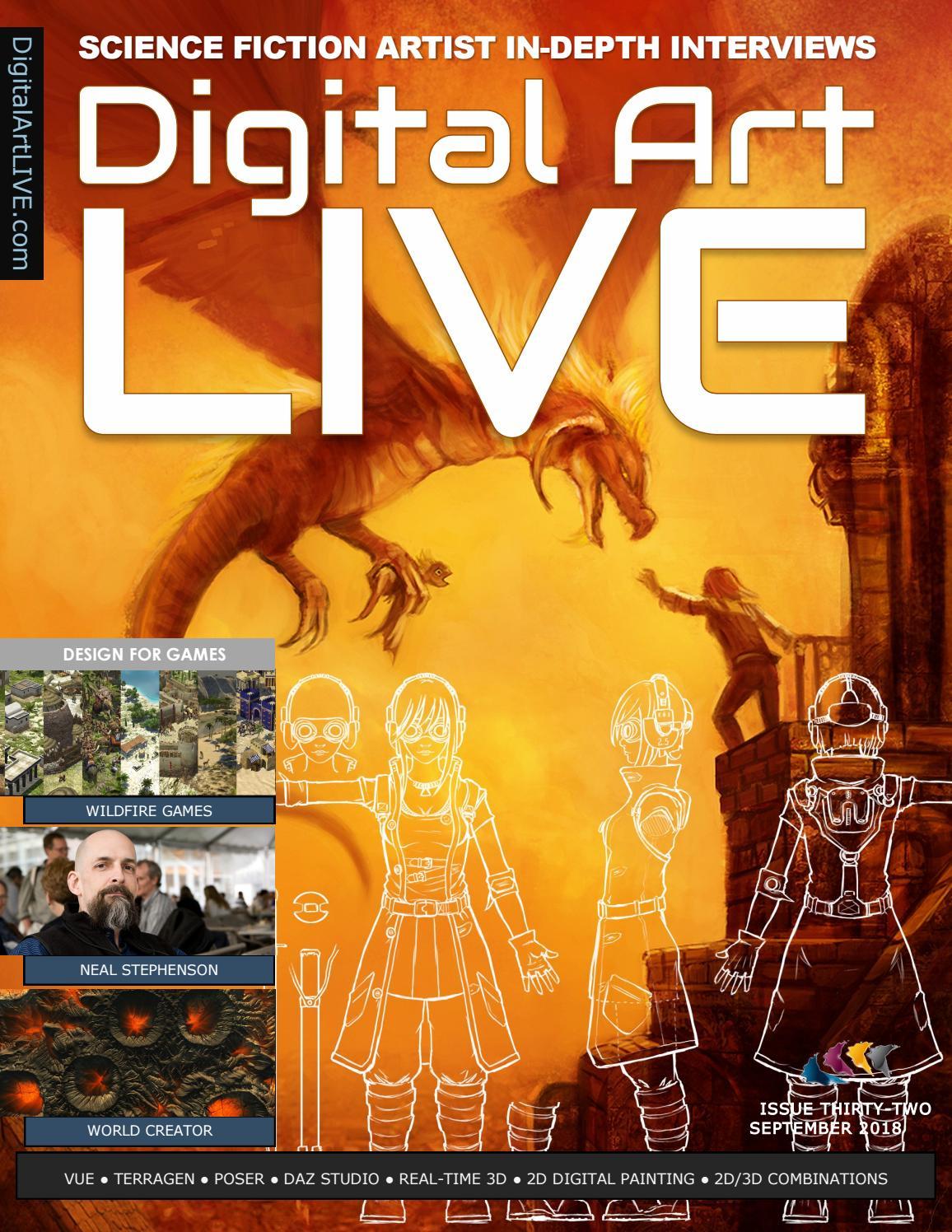 Digital Art Live Issue 32 by Digital Art Live - issuu