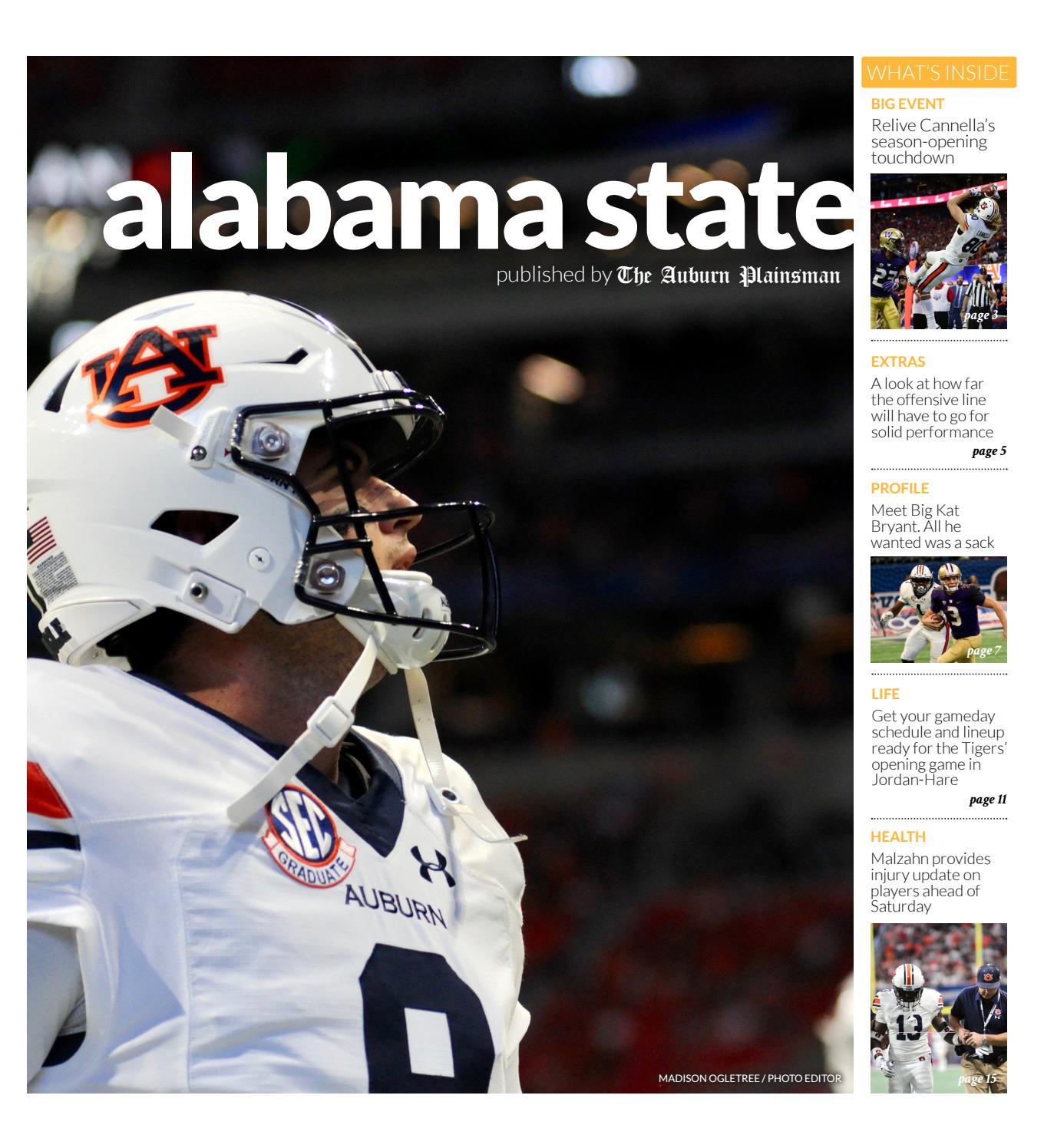8e53614fd0eea4 Auburn vs. ASU Special Issue by The Auburn Plainsman - issuu