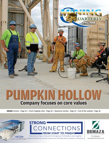 Mining Quarterly — Fall 2018 by Elko Daily - issuu