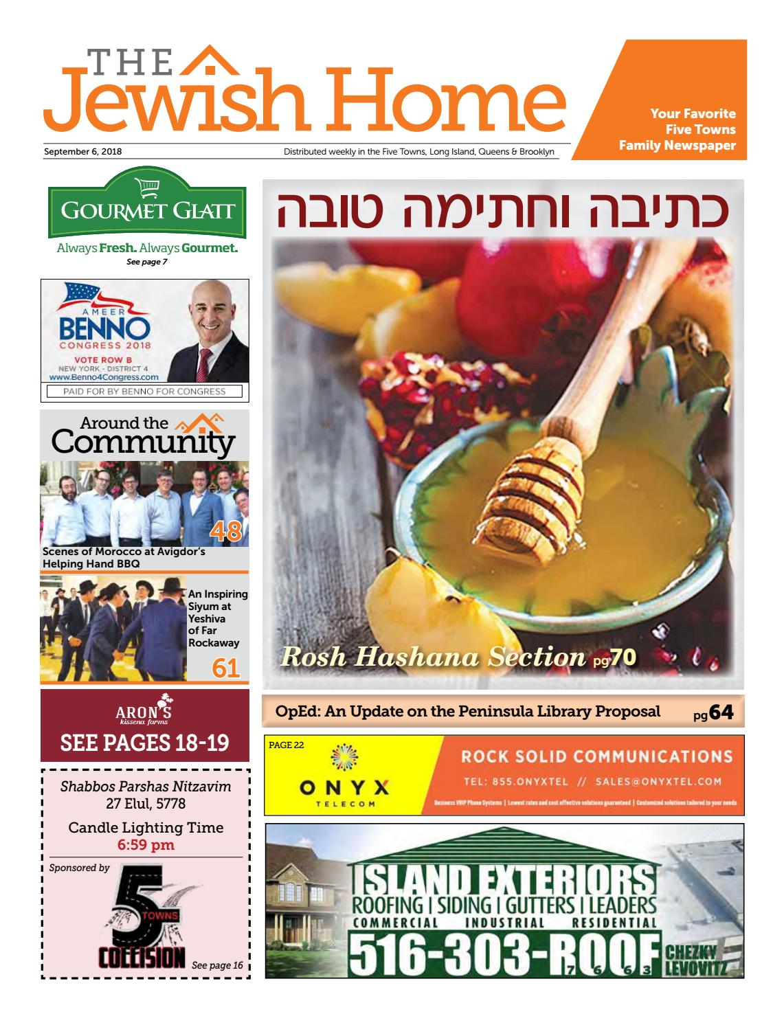 3866412a8350 Five Towns Jewish Home - 9-6-18 by Yitzy Halpern - issuu