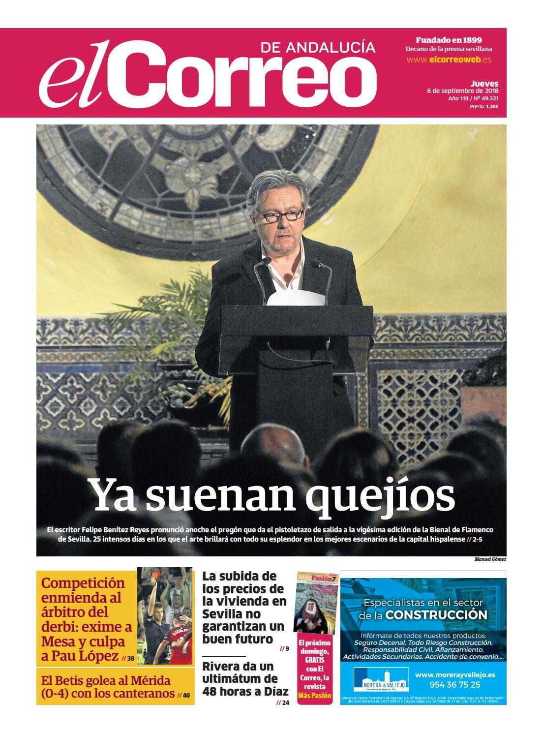06.09.2018 El Correo de Andalucía by EL CORREO DE ANDALUCÍA S.L. - issuu 16a9f87ba6b