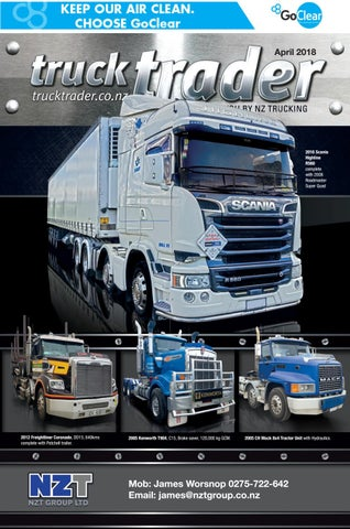 Truck Trader April 2018 by NZTrucking issuu