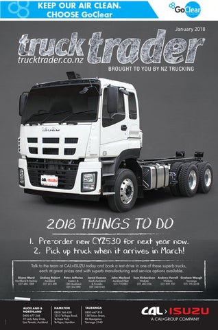 Truck Trader January & February 2018 by NZTrucking - issuu