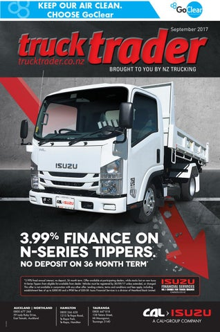 Truck Trader September 2017 by NZTrucking - issuu