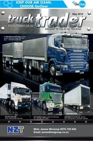 Truck Trader May 2018 by NZTrucking - issuu