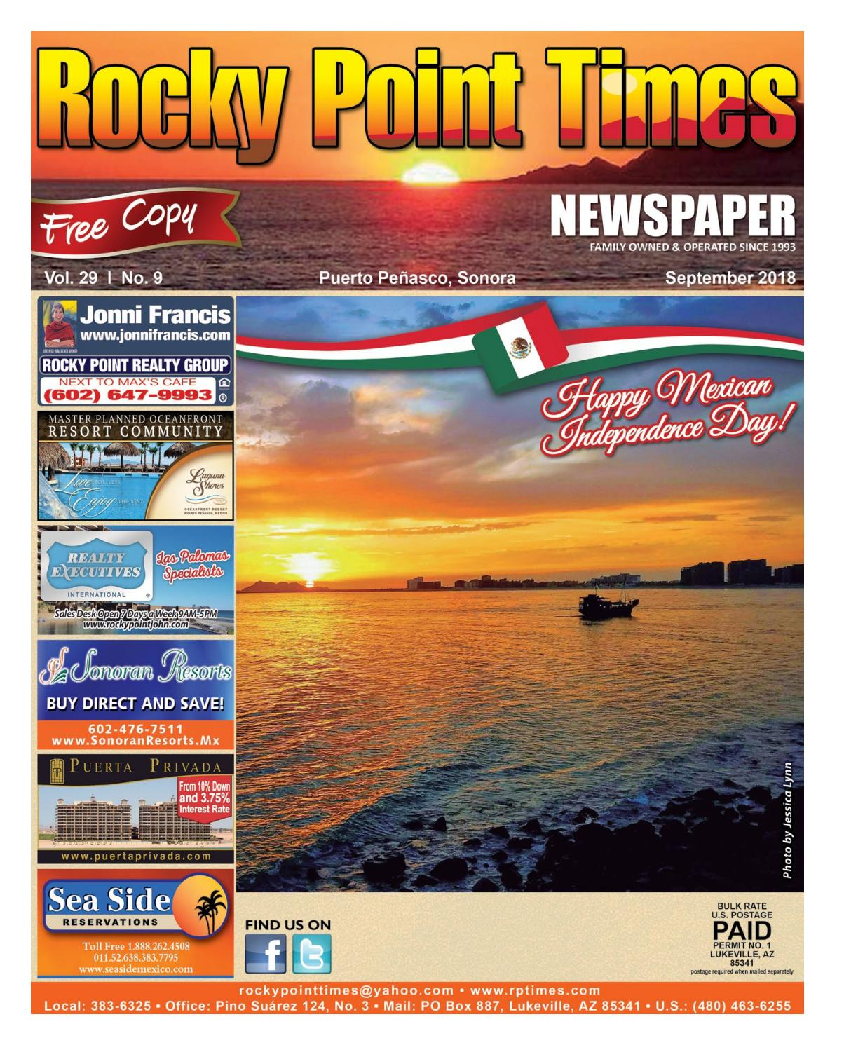 Rocky Point Times September 2018 by Rocky Point Services - issuu