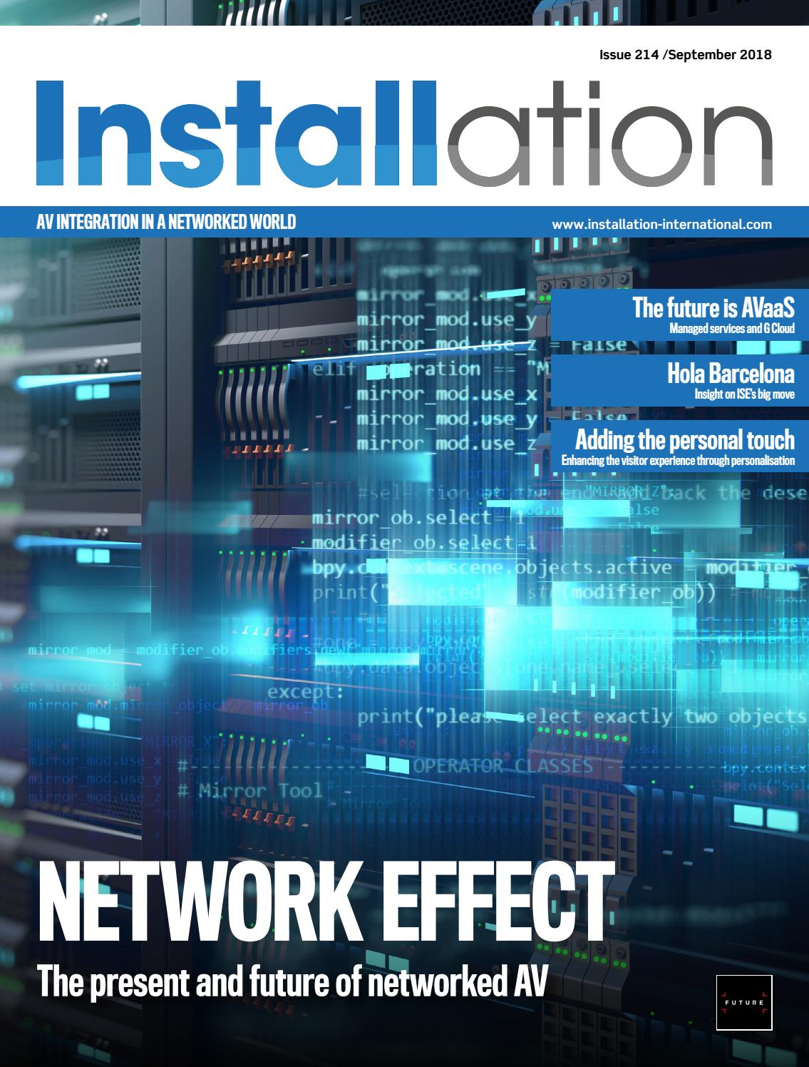 Installation September 2018 Digital Edition by Future PLC - issuu 341c8652850
