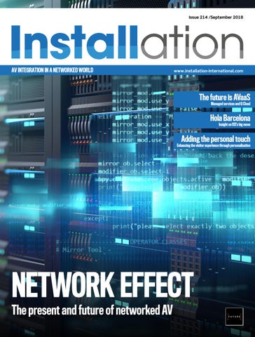 Installation September 2018 Digital Edition by Future PLC