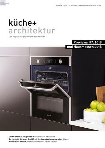 Küche + Architektur 4/2018 By Fachschriften Verlag   Issuu