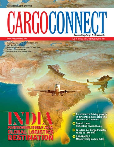 CARGOCONNECT - September issue 2018 by Surecom Media - issuu