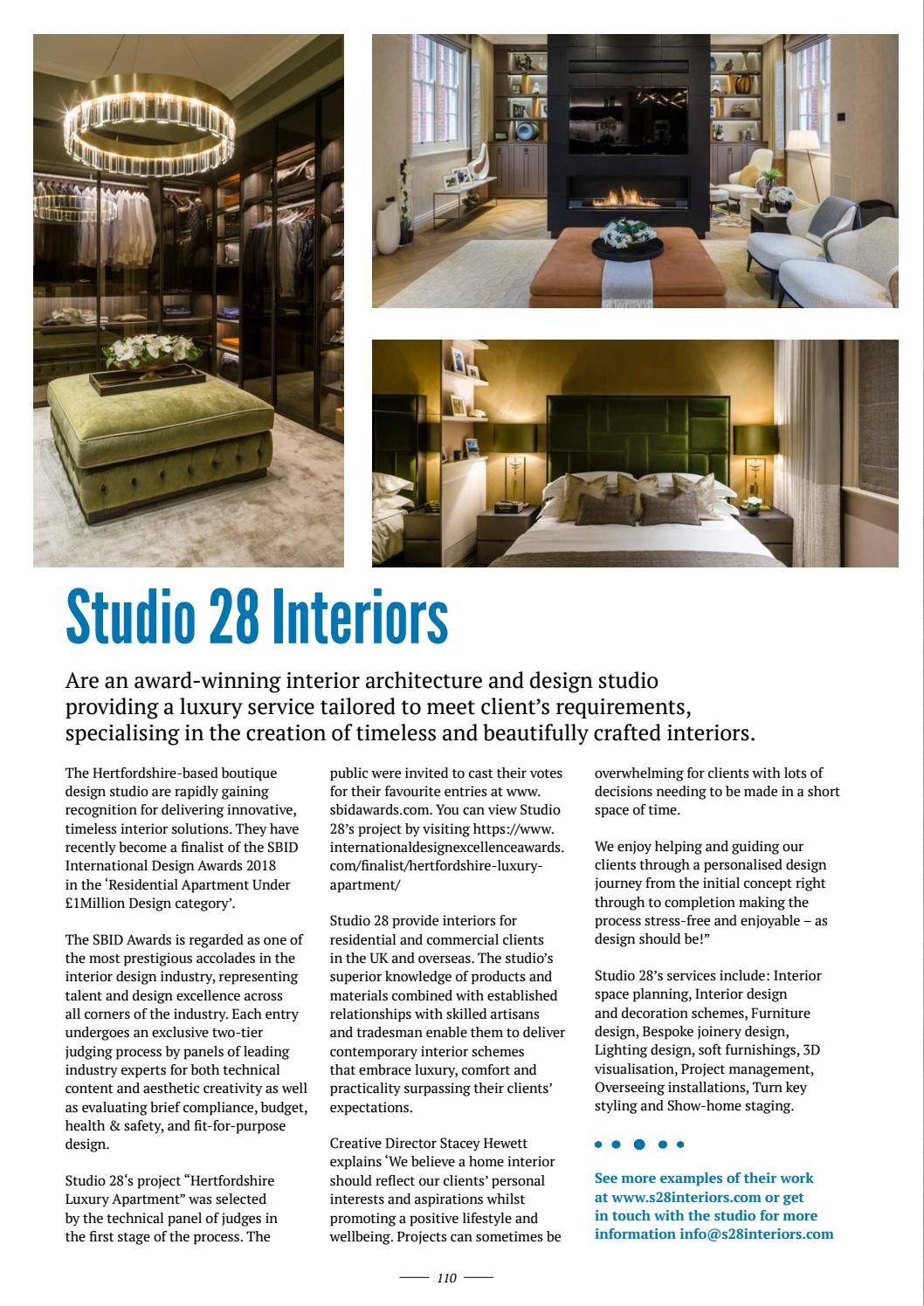 Design Buy Build Issue 34 2018 By Mh Media Global Issuu