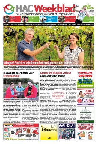 HAC Weekblad week 36 2018 NL by HAC Weekblad issuu