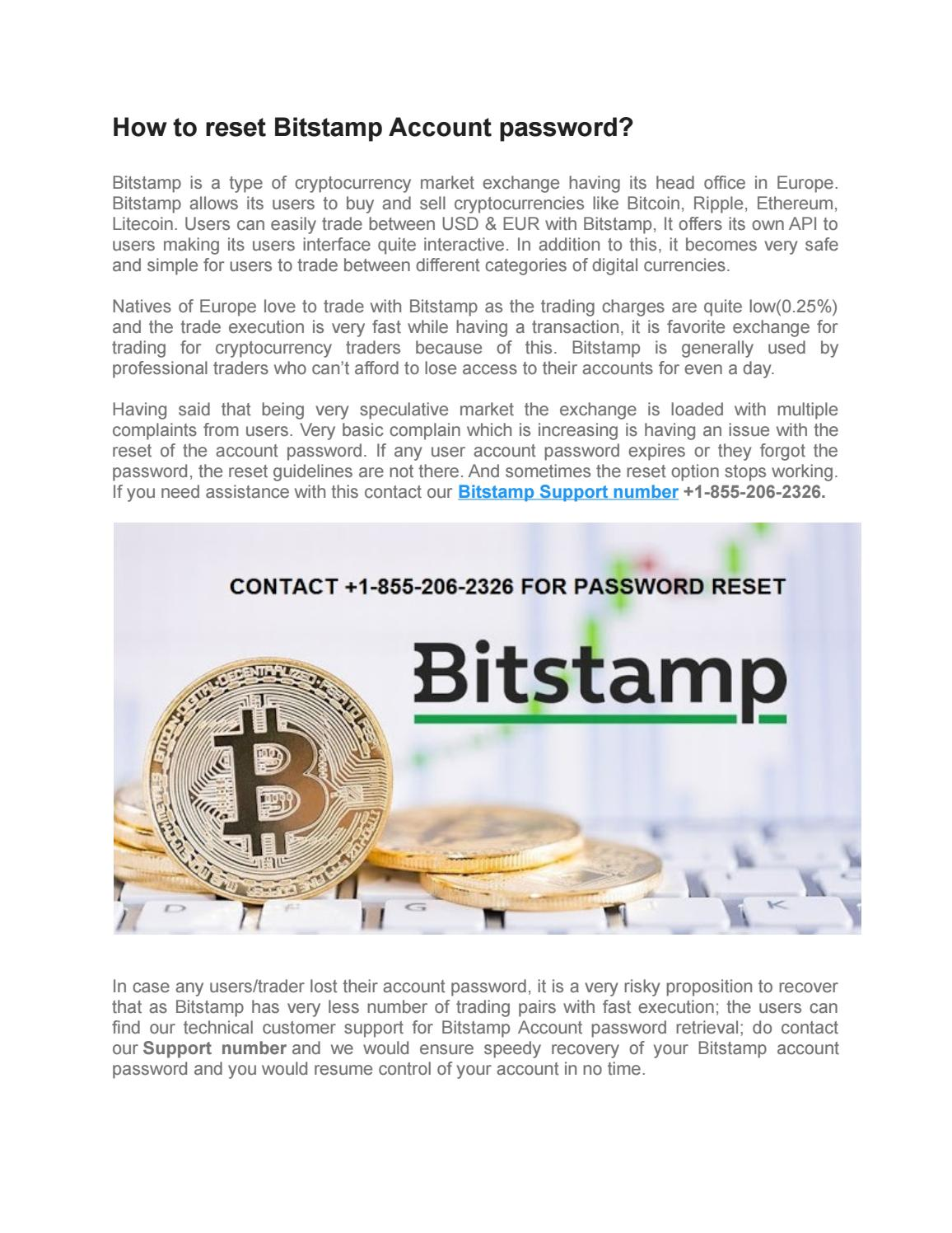 contact bitstamp support number +1-855-206-2326 for technical