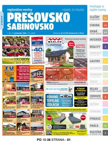 fa4aa34b3c69 Presovsko 36 2018 by presovsko presovsko - issuu