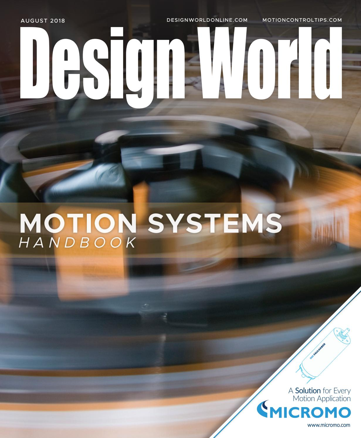 Motion Systems Handbook 2018 By Wtwh Media Llc Issuu Basic Circuit Supplies Steppermotor Timing Electromechanical