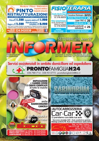INFORMER settembre 2018 by informer - issuu 3177c006222