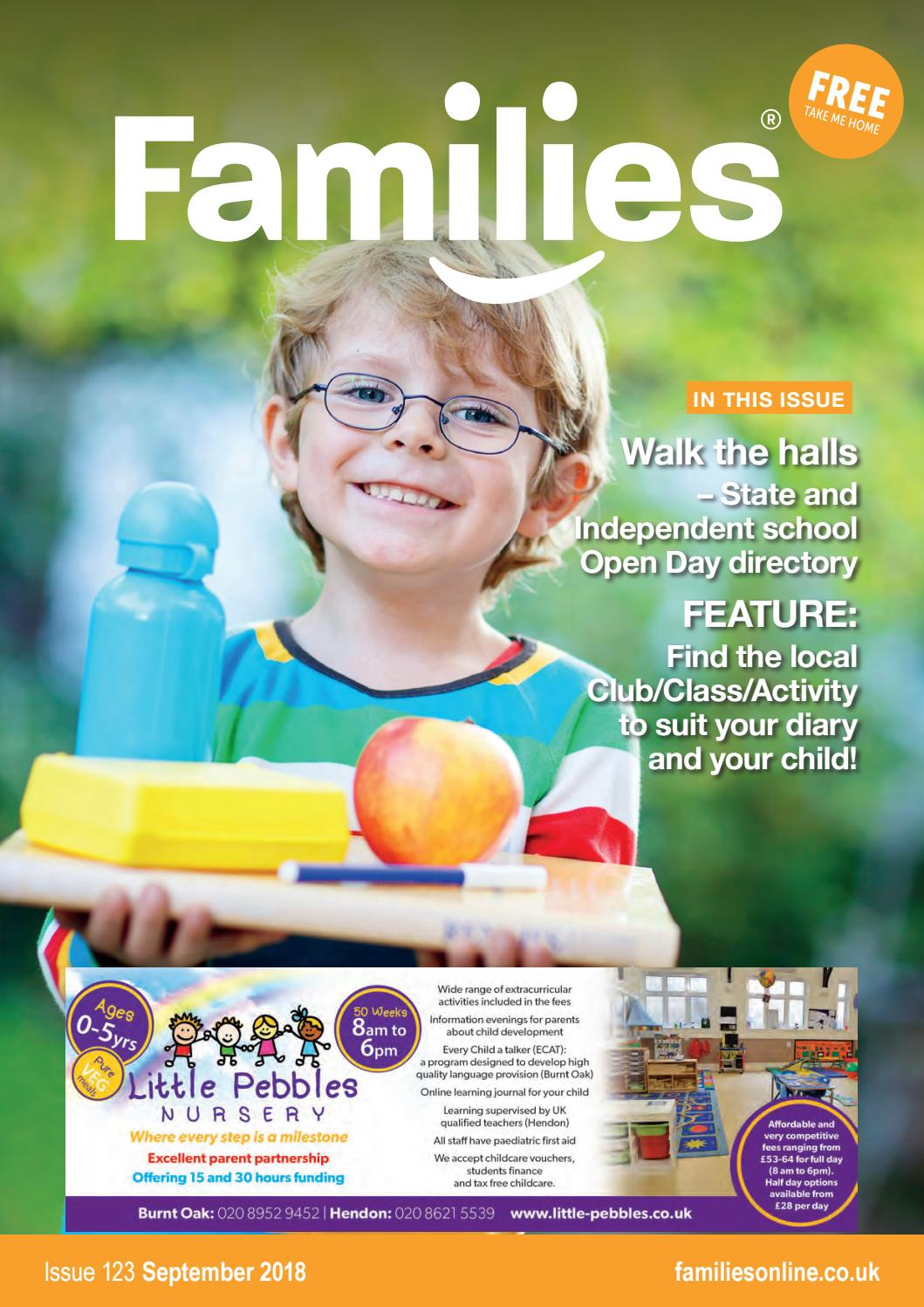 Families NW London Magazine 123 September 2018 by Heather