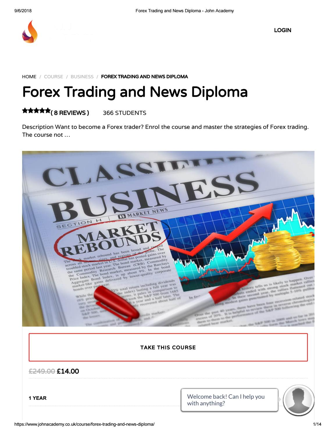 Forex trading reviews news
