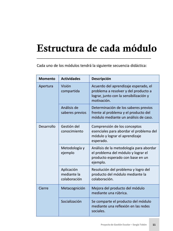 Proyecto De Gestion Escolar Manual Para Directores 3 2 By