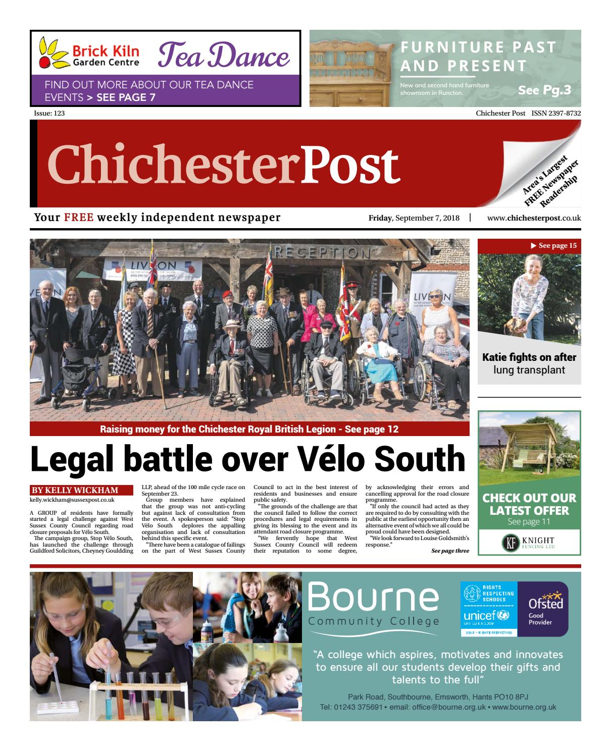 Chichester Post Issue 123 By Post Newspapers Issuu