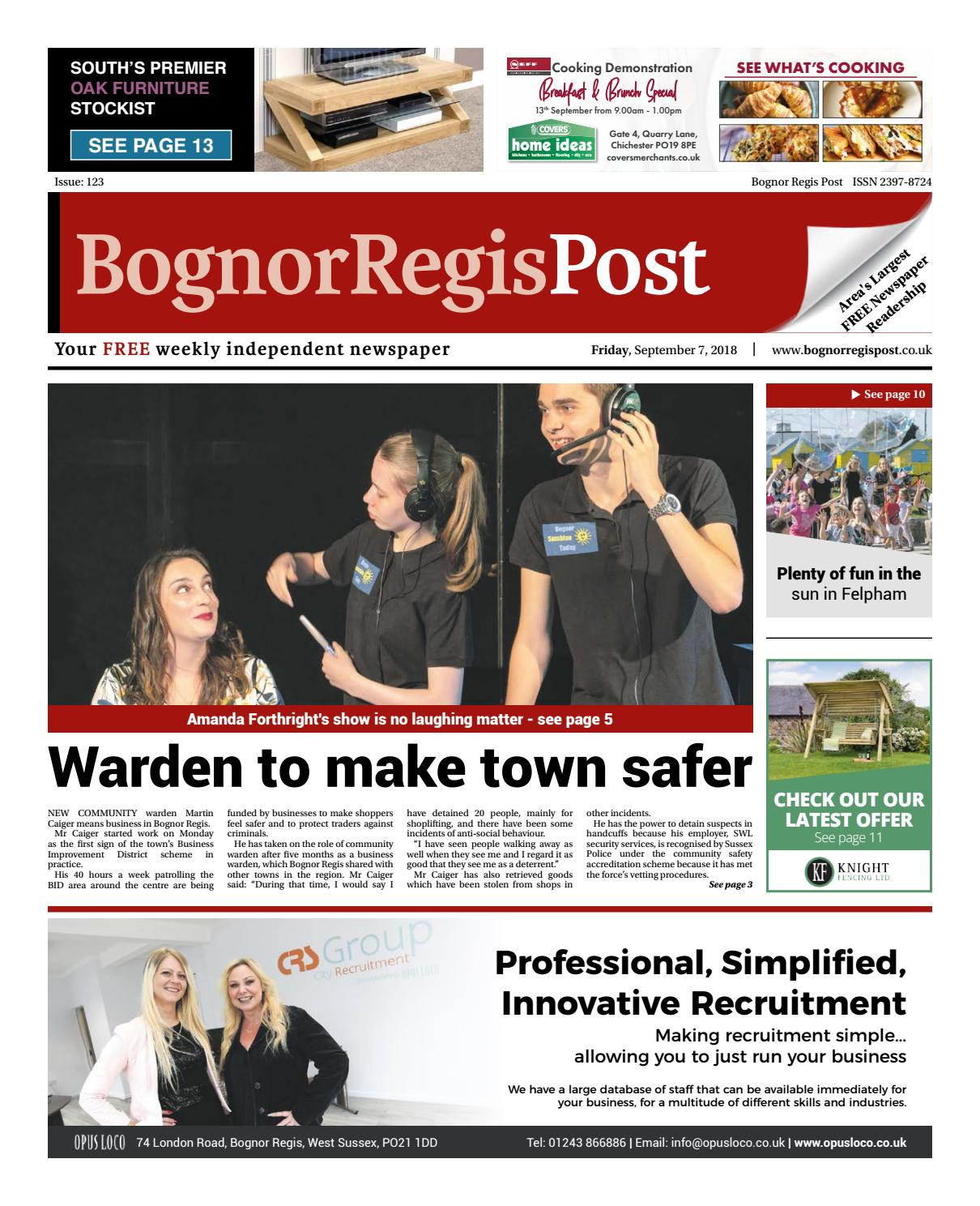 Bognor Regis Post Issue 123 by Post Newspapers - issuu