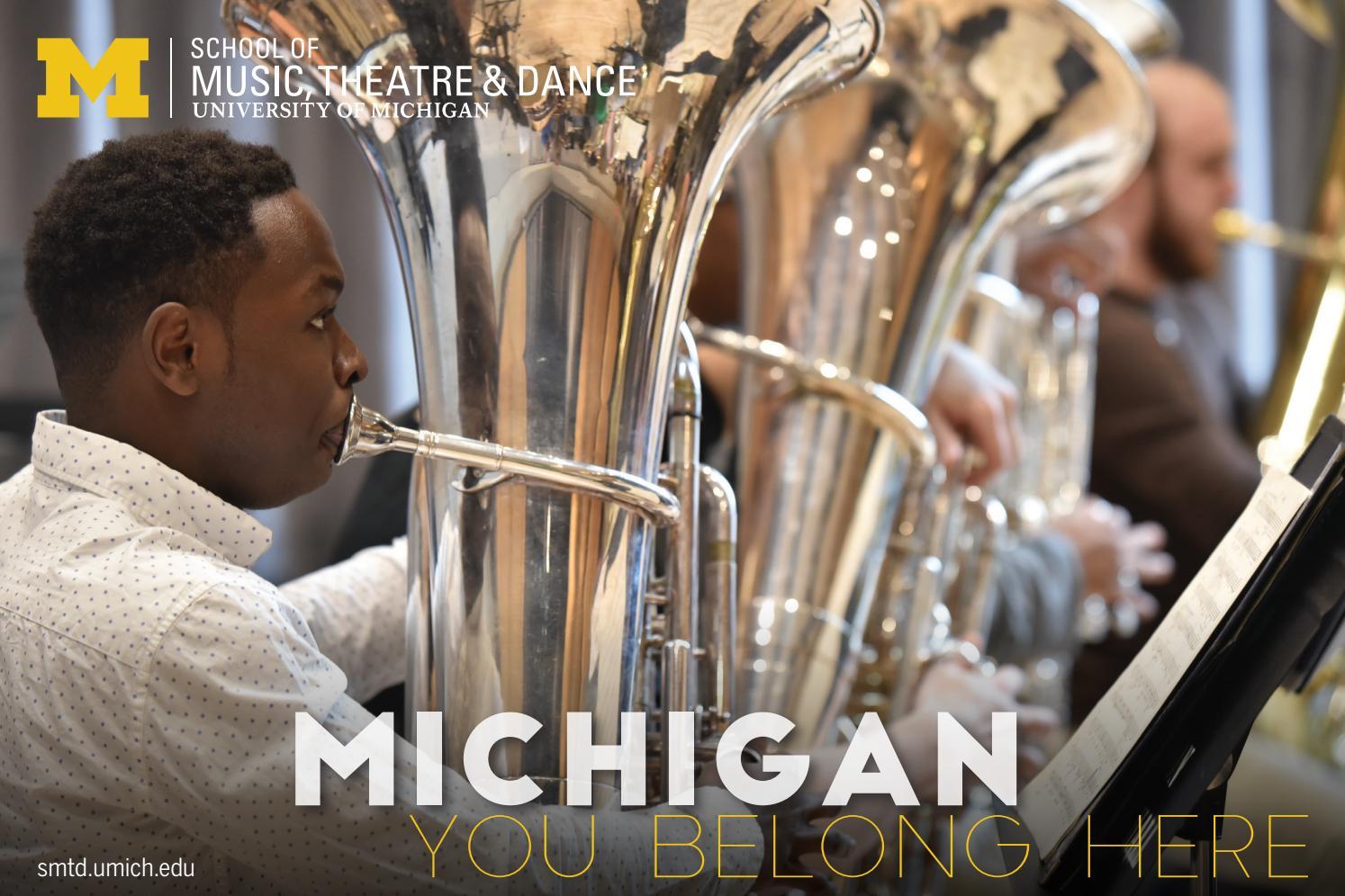2018 SMTD Admissions Viewbook by University of Michigan