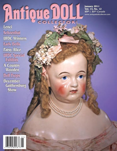 c376dc16310 2011 ANNUAL by Antique Doll Collector Magazine - issuu