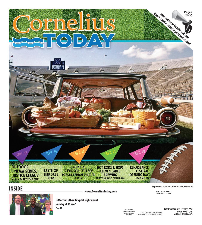 Cornelius Today September 2018 by Business Today Cornelius Today issuu