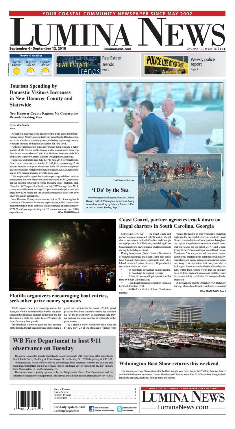 Lumina News Sept  6, 2018
