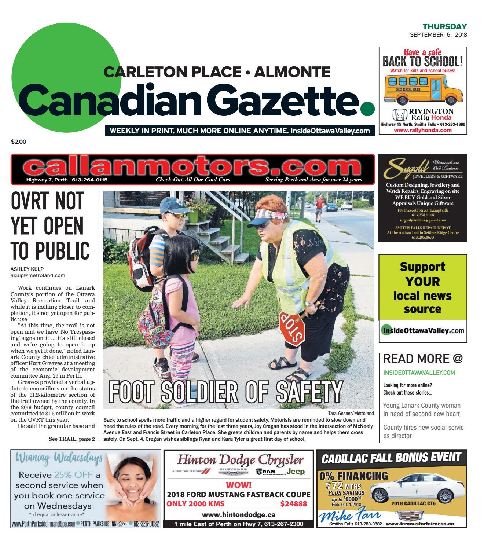 Otv C A 20180906 By Metroland East Almonte Carleton Place Canadian Free Heater Circuit Rosemary Ainslie Basiccircuit Gazette Issuu
