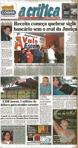 Jornal A Critica - Edição 1020- 18 03 2001 by JORNAL A CRITICA - issuu 47d4e802279