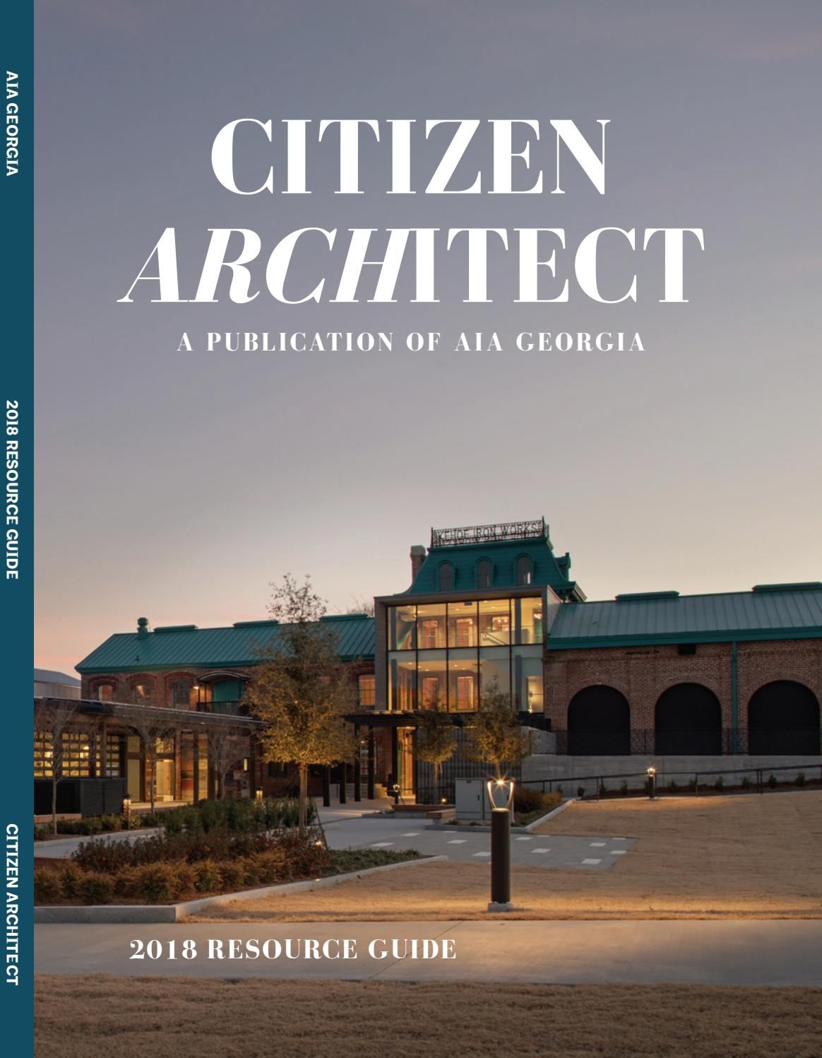 2018 Resource Guide by AIA Georgia - issuu