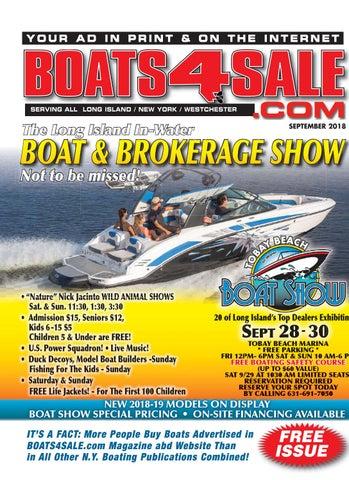 Boats 4 Sale Magazine September 2018 by Boats4Sale com Media - issuu