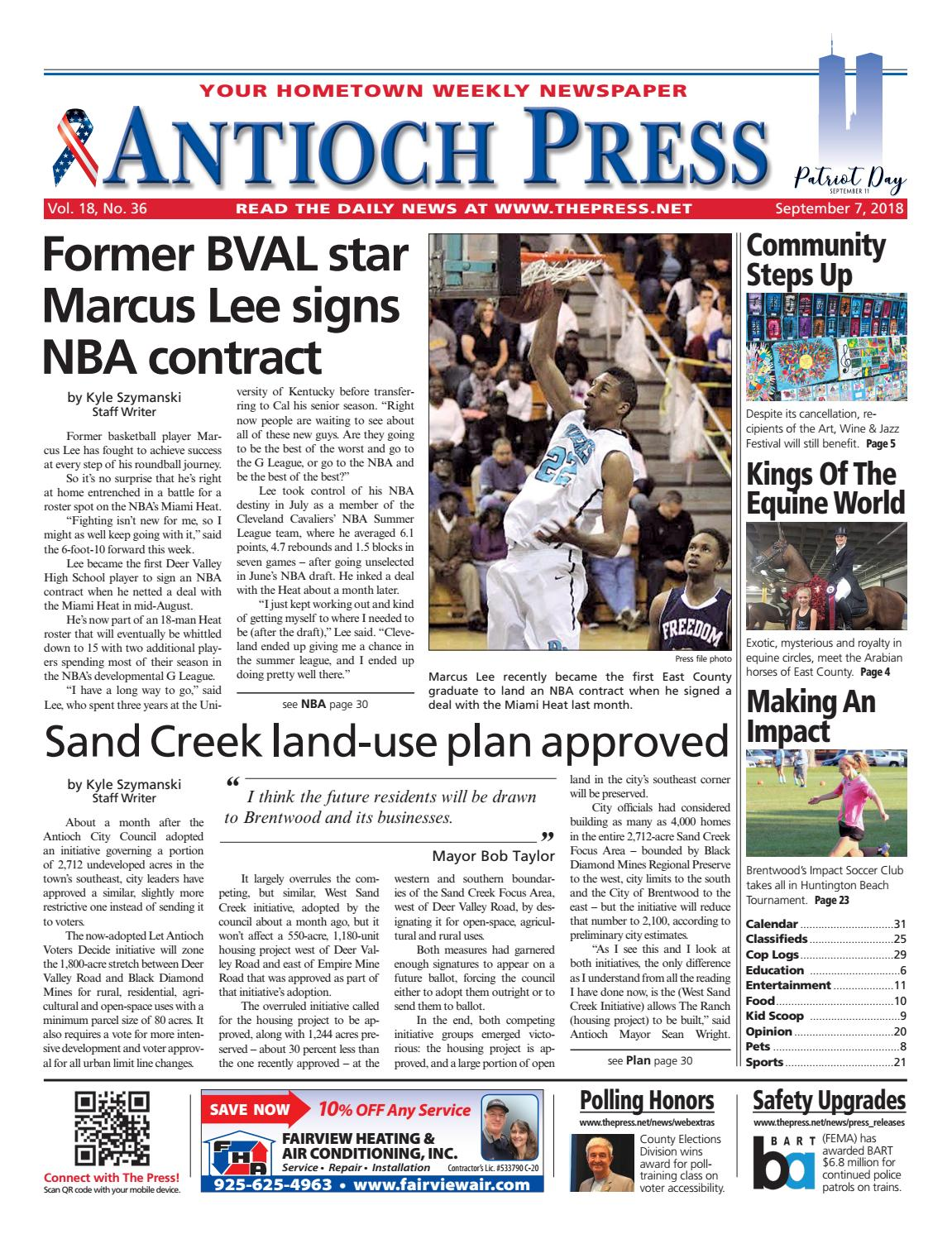 Antioch Press 09.07.18 by Brentwood Press & Publishing - issuu