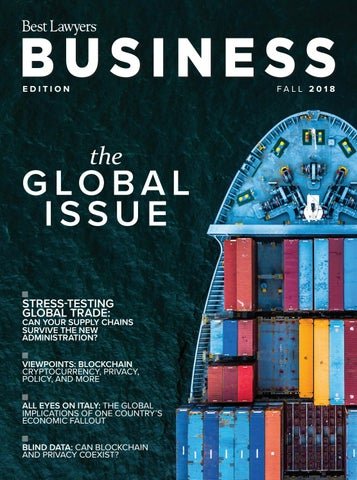 Best Lawyers Fall Business Edition 2018 by Best Lawyers - issuu
