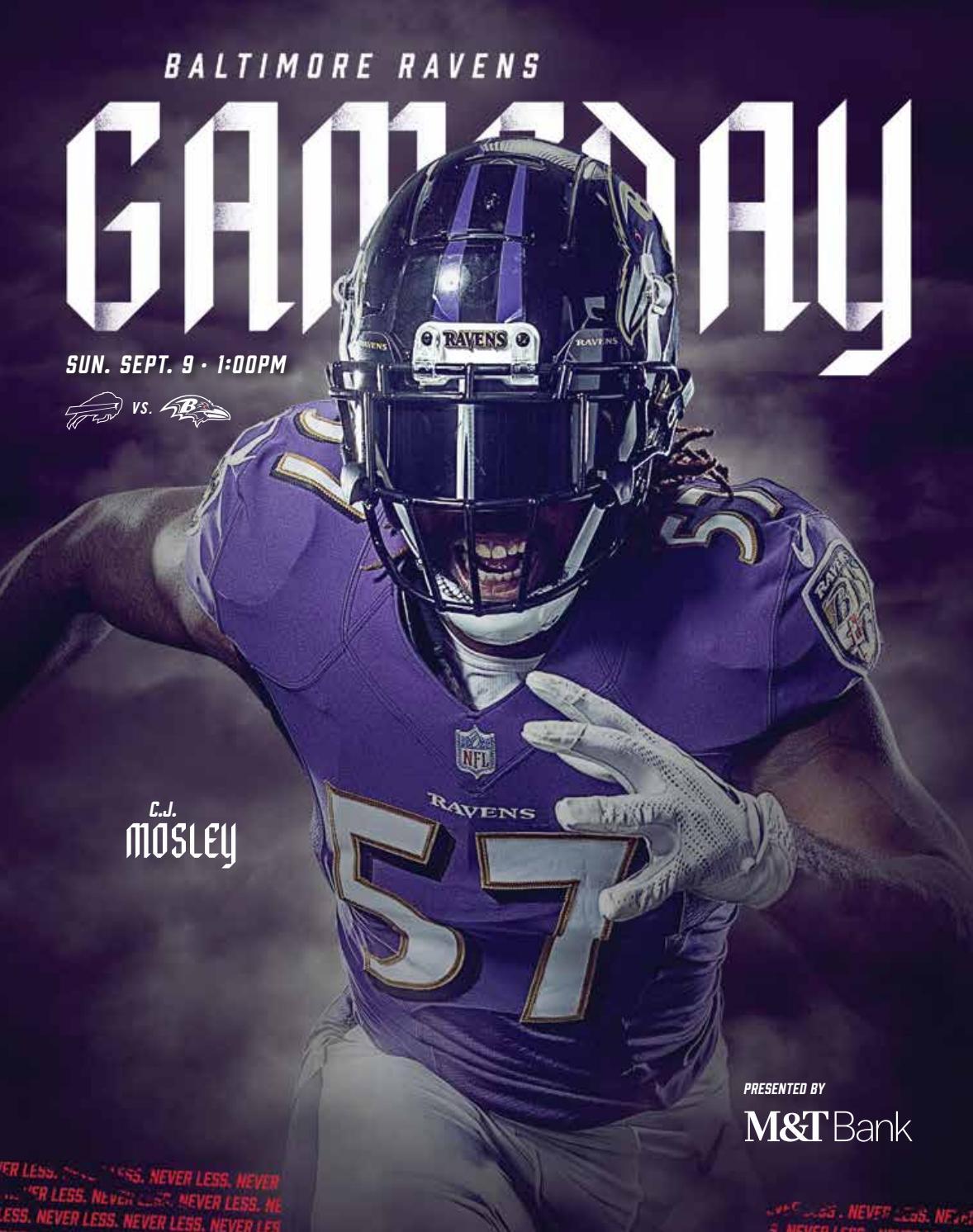 Week 1 Buffalo Bills Vs Baltimore Ravens By Baltimore Ravens Issuu